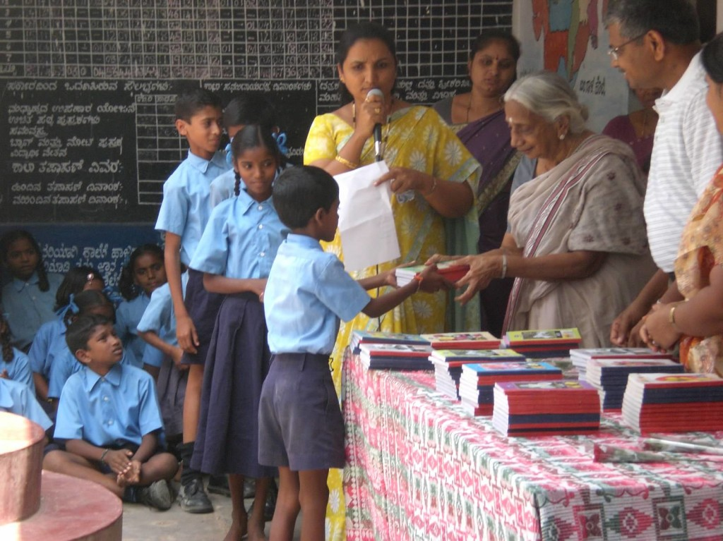 Taj - Book distribution